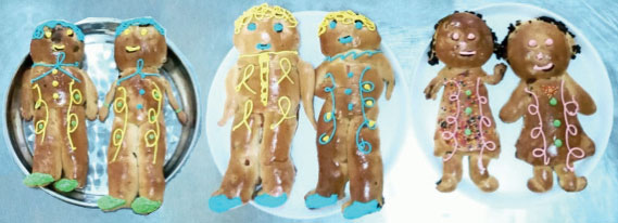 Day of the Dead Bread Dolls