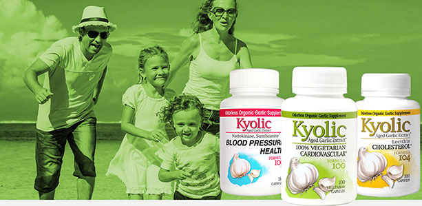 New UCLA Clinical Study Shows Kyolic Aged Garlic Extract  Reverses Heart Disease