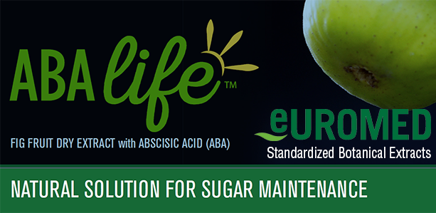 Introducing ABAlife fig fruit extract for glycemic control, carbohydrate metabolism, and stress management