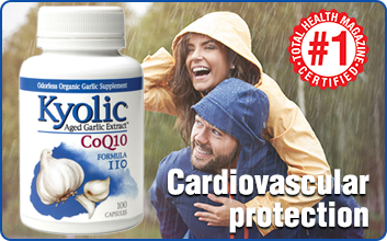 Kyolic Age Garlic Extract for Cardiovascular Health