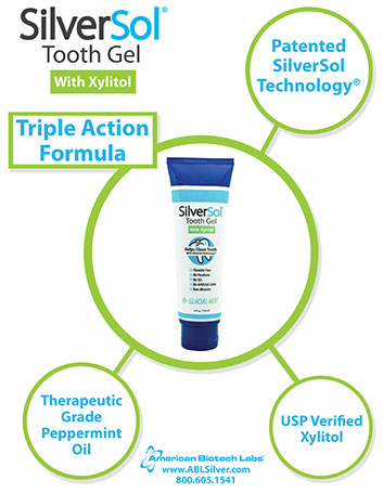 SilverSol Tooth Gel with Xylitol