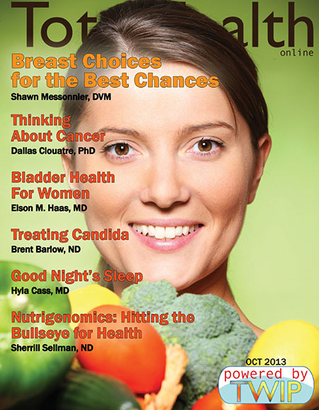 Click to read Total Health Magazine Online October 2013