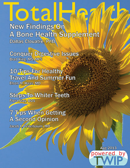 Click to read Total Health Magazine Online August 2013
