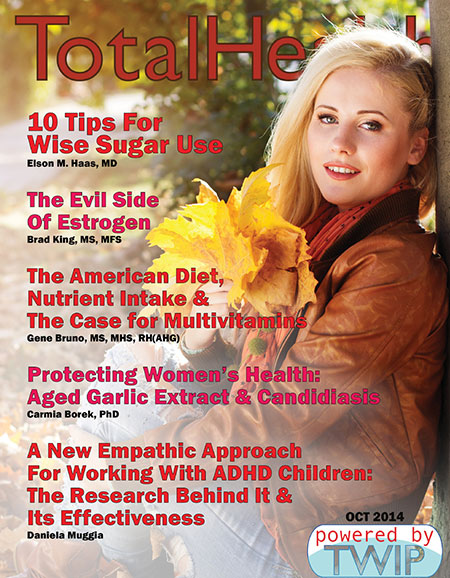 Click to read Total Health Magazine Online October 2014
