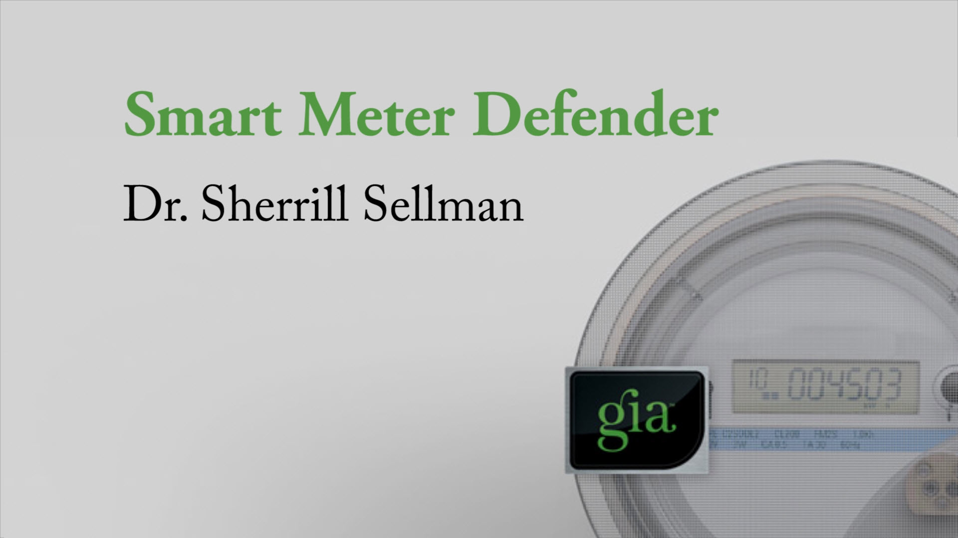 Smart Meter Defender by Gia Wellness