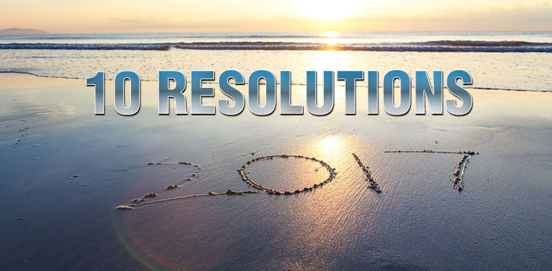 Dr. Elson's 10 Health Resolutions for 2017