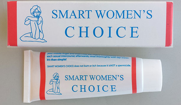 Smart Women's choice Natural Contraceptive and birth control cream