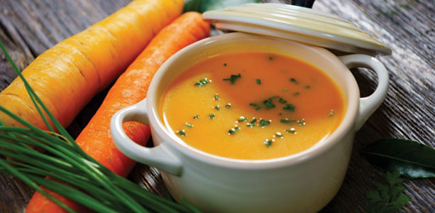 Carrot Soup With A Twist Gloria Gilbere