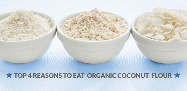 Health Benefits of COCONUT FLOUR by Gloria Gilbere
