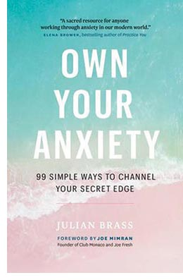 Own Your Anxiety book by Julian Brass