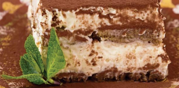 Gluten & Sugar FREE Tiramisu Recipe Gloria Gilbere