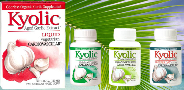 Kyolic Aged Garlic Extract Shown to Reduce Arterial Plaque Buildup and Other Cardiovascular Risk Factors