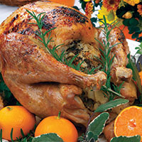 Health-Enhancing vs Health-Depleting Turkey Dinner