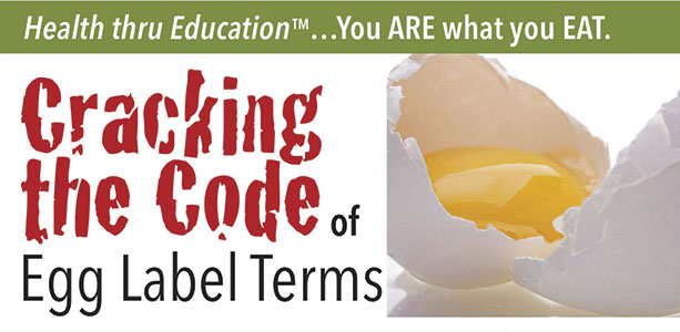 Cracking The Code—Of Egg Label Terms