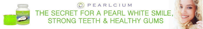 Pearlcium for whiter teeth and healthy gums