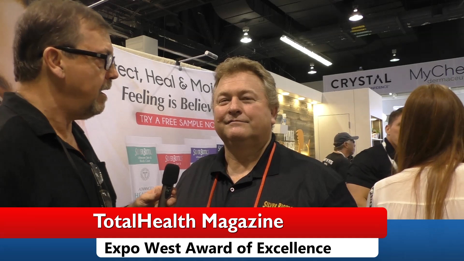 Silver Biotics Award of Excellence Expo West 2018